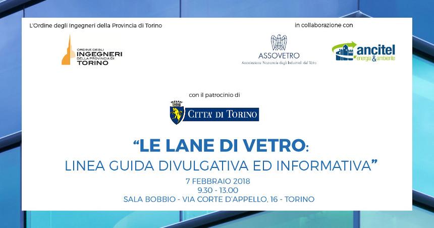 Ancitel presenta il seminario - Le lane di Vetro: linea guida e divulgativa -
