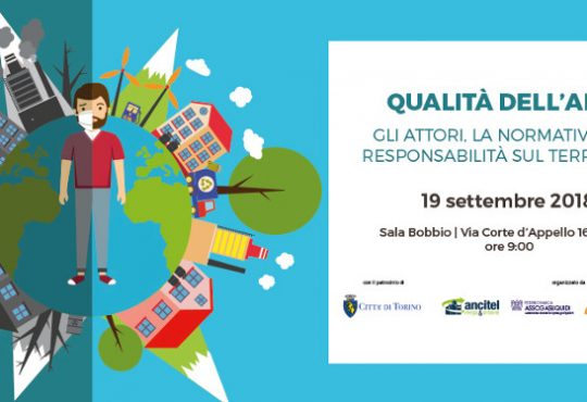 Convegno ANCITEL inquinamento aria: Torino 19 settembre Sala Bobbio