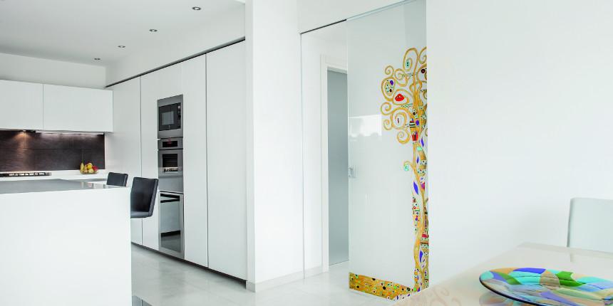 MIgliorare comfort, qualità ed estetica con le porte in vetro!