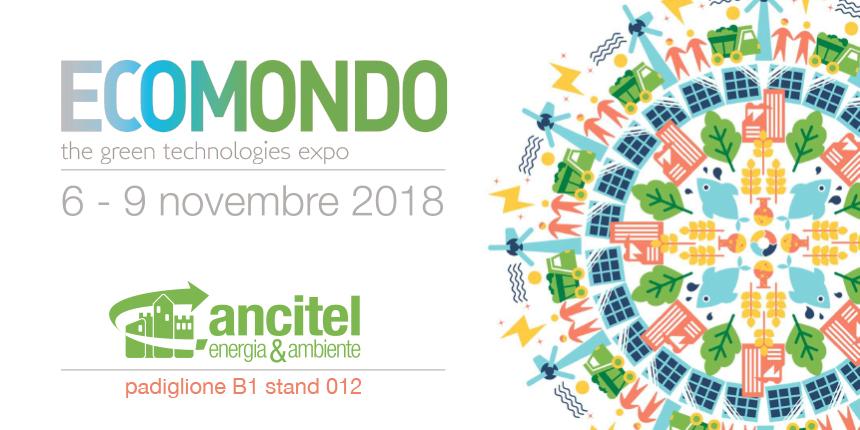 Ancitel Energia e Ambiente presente all'edizione 2018 di Ecomondo