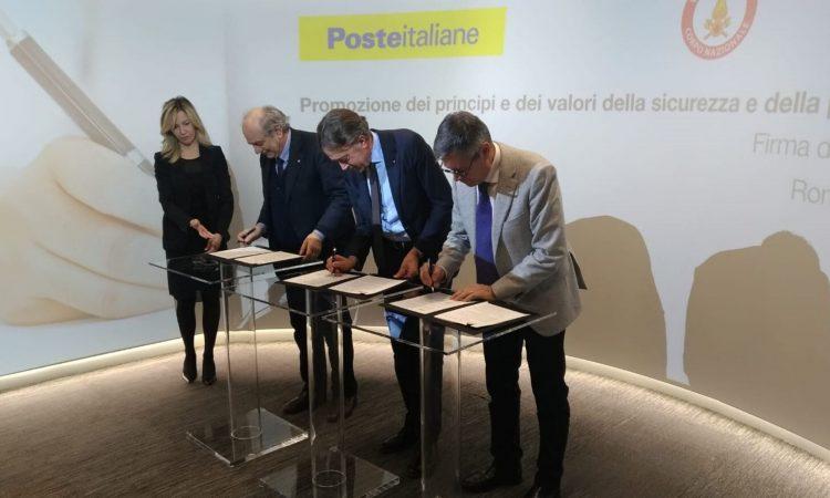 firmato protocollo intesa cni cnvvf poste italiane