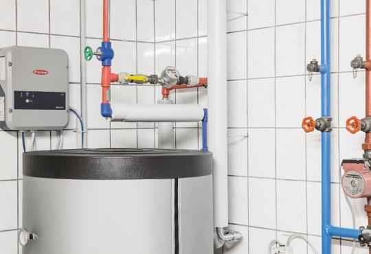 Fronius ohmpilot migliora l'efficienza degli impianti termici